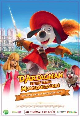 image D'Artagnan et les trois Mousquetaires